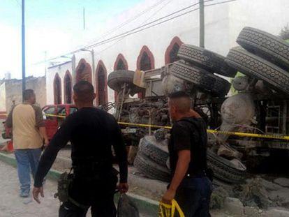 Un camión mata a 26 peregrinos en una fiesta patronal en México