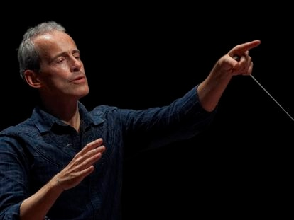 Paul Daniel, director de la Real Filharmonía de Galicia.
