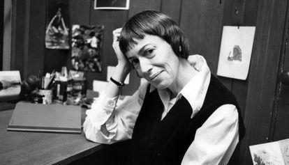 Ursula K. Le Guin retratada en 1972.