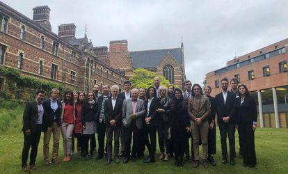 Los 'amigos de Marías' que han participado en el Congreso en Oxford.
