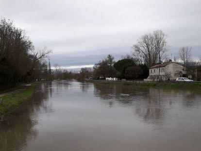 Fotografía realizada por el escritor en el Marais Poitevin, la marisma de Poitou, en el departamento de Deux-Sèvres. La novela transcurre en la localidad ficticia de Pierre-Saint-Christophe, situada en ese rincón del oeste francés.