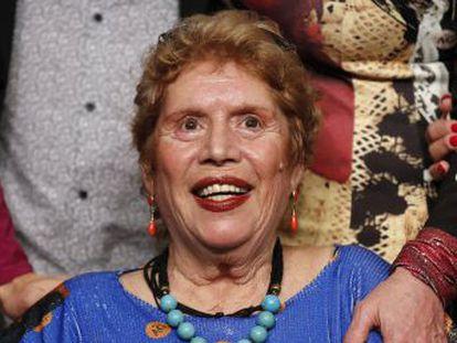 La cantante celebra su 70º cumpleaños triunfando con el dueto junto a Miguel Poveda, que marcó su regreso después de haber estado al borde de la muerte