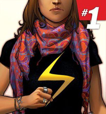 Kamala Khan, la primera superheroína musulmana de Marvel.