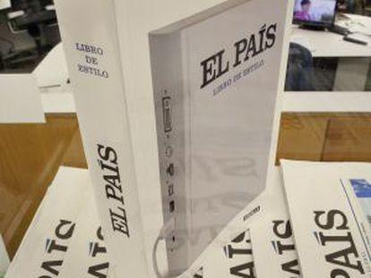 El nuevo libro de estilo de EL PAÍS.