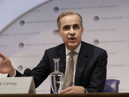 Mark Carney, gobernador del Banco de Inglaterra,