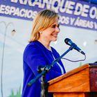 Maru Campos Galván, candidata del Partido Acción Nacional al estado de Chihuahua.
