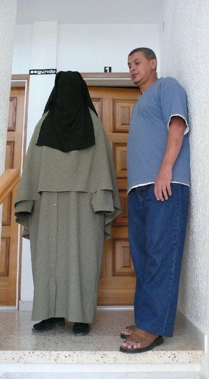 Fatima y su marido, Mustafa.