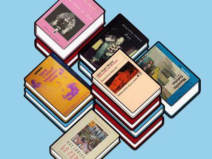 'Historias del Kronen' (José Ángel Mañas), 'Las edades de Lulú' (Almudena Grandes), 'Manolito Gafotas' (Elvira LIndo), 'Lo peor de todo' (Ray Loriga), 'Raro' (Benjamín Prado) y 'Amor, curiosidad, prozac y dudas' (Lucía Etxebarría). Libros y autores que descubrieron un nuevo mundo a los lectores españoles.