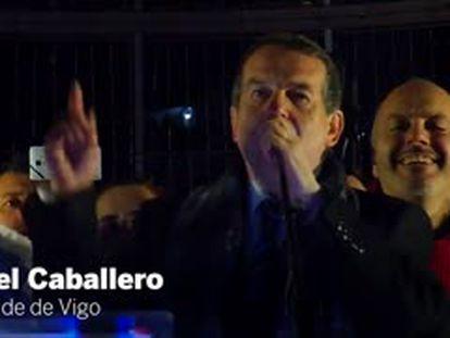 "Abel Caballero prende su ""Navidad top"": ""Very welcome everybody here!"""