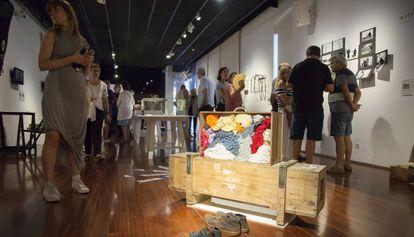 Una de las piezas de la muestra de Arts Santa Mònica sobre Benjamin.