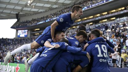 El Manchester City y el Chelsea en el partido final de la Champions League 2021, en imágenes