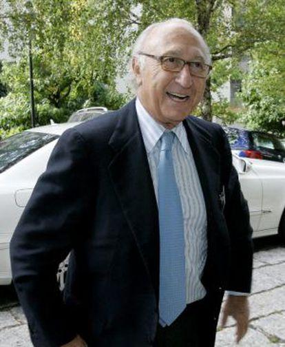 El presidente de Pescanova, Juan Manuel Urgoiti