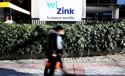 Sede de Wizink en la calle Ulises de Madrid.