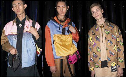 Colección masculina de Prada para el verano 2020.