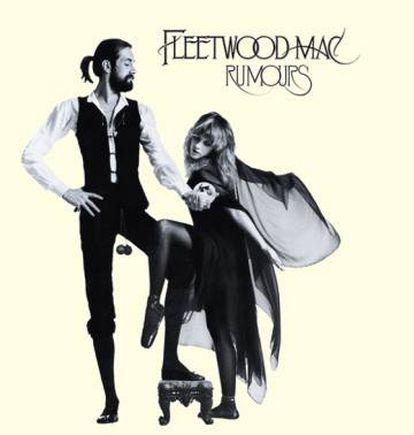 Portada de 'Rumours', la obra maestra de Fleetwood Mac.