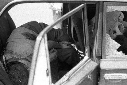 Atentado mortal contra el comandante Sáenz de Ynestrillas y otros dos militares en 1986.