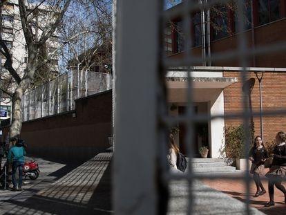 Colegio Paraíso Sagrados Corazones de Madrid, donde se ha producido el primer caso de un niño con coronavirus en Madrid.