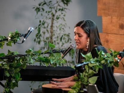 La cantante Valeria Castro actúa el miércoles en el espacio V22, dentro de la gira de conciertos Gira en Kasas.