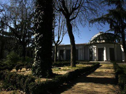 Interior de la Finca Vista Alegre, en Carabanchel.