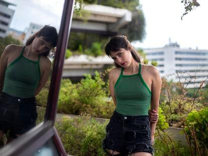 La escritora chilena Paulina Flores, retratada el miércoles en Barcelona.