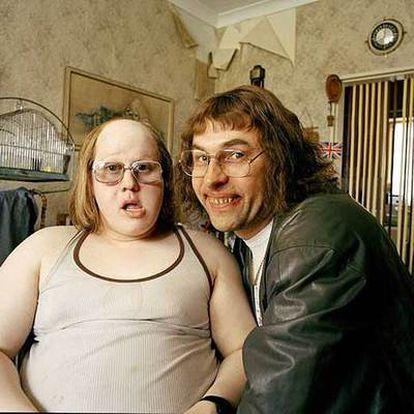 Matt Lucas (izquierda) y David Williams en la serie <i>Little Britain.</i>