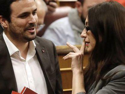 Alberto Garzón, responsable del partido   No tiramos la toalla, pero ahora mismo es más difícil