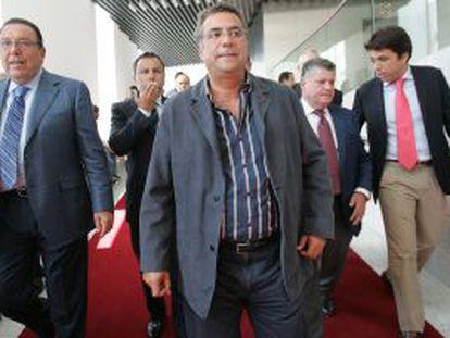 El empresario inmobiliario, Enrique Ortiz.