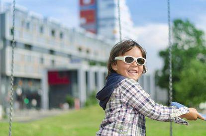 """Las nuevas gafas electrónicas, aprobadas por la Academia Americana de Oftalmología para el tratamiento de la ambliopía u """"ojo vago""""."""
