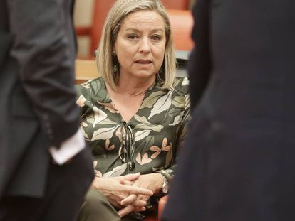 Ana Oramas, diputada por Coalición Canaria y presidenta de la comisión de investigación sobre la crisis financiera y el programa de asistencia financiera del Congreso de los Diputados.