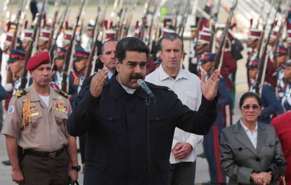 Nicolás Maduro, este fin de semana.