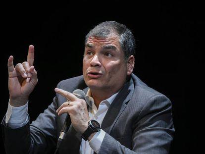 El expresidente de Ecuador Rafael Correa.
