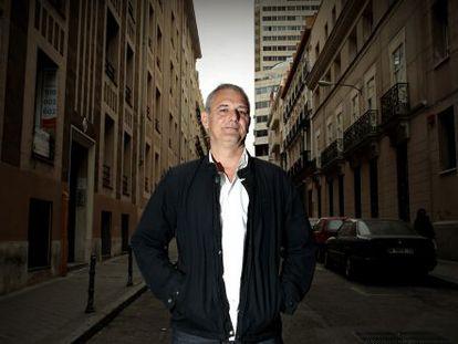 El director francés Laurent Cantet, en Madrid.