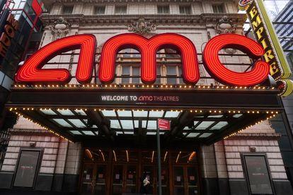 Cinema of the American chain AMC in Manhattan, on January 27.