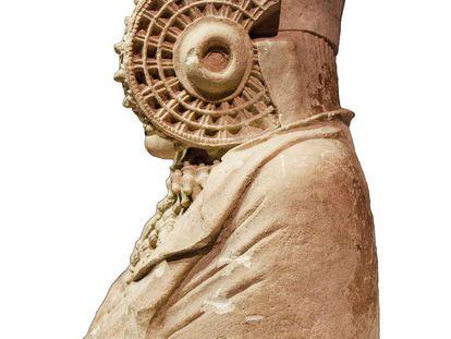 La Dama de Elche, con sus dos rodetes donde se recogía el pelo, fue el primer icono ibérico.