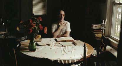 Eli Rosen, en su casa del Bronx, en Nueva York.