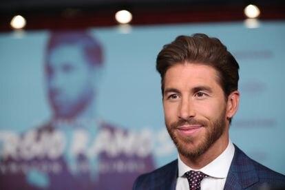 Sergio Ramos, en la presentación de su documental en Madrid, el pasado septiembre.