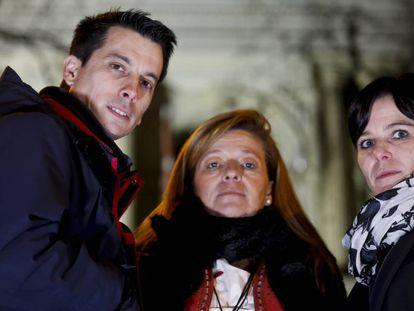 Luis Gonzalo Segura, Ana Garrido y Azahara Peralta.