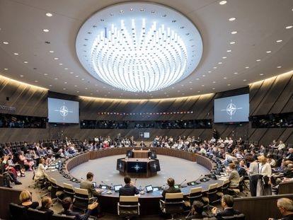 La sede de la OTAN, en Bruselas, en 2018.