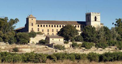 Monestir de Sant Jeroni de Cotalba construït per Alfons el Vell.