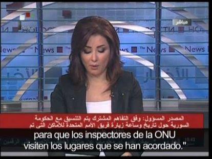 Siria acepta la inspección de Naciones Unidas ante la presión internacional