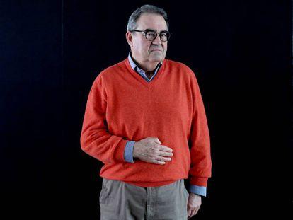 El magistrado del Tribunal Supremo Nicolás Maurandi, este sábado, en Madrid.
