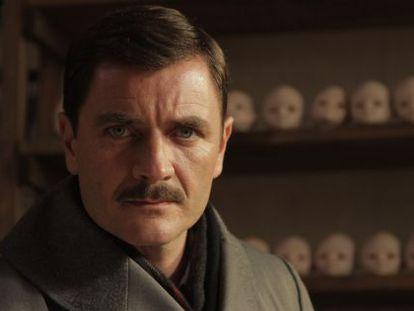 Àlex Brendemühl, caracterizado como Mengele, en el filme.