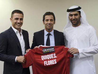 Presentación de Sánchez Flores como técnico del Al-Alí.