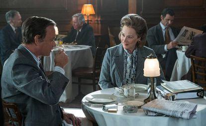 Fotograma de la película 'Los archivos del Pentágono'.