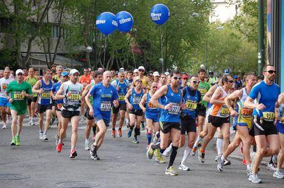 Corredores en la edición del EDP Rock'n'Roll Madrid Maratón del año pasado.