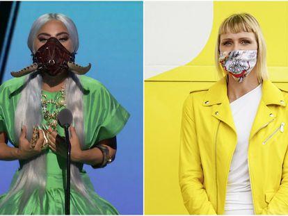 Lady Gaga y Charlène de Mónaco.
