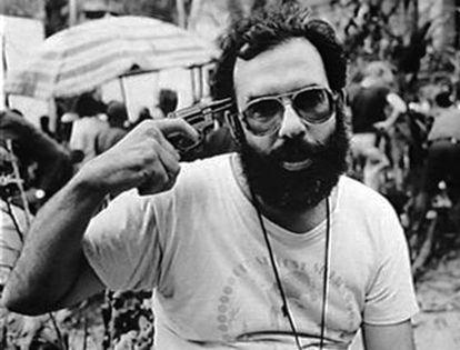 Francis Ford Coppola, en un momento del rodaje de 'Apocalypse Now'.