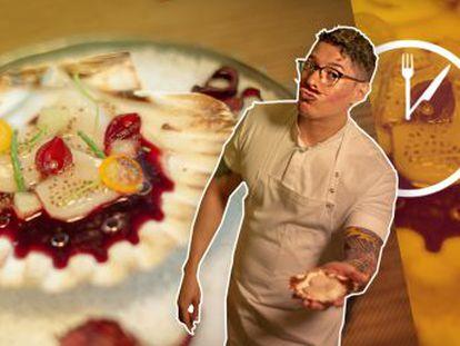 Roberto Ortiz, jefe de cocina de Punto MX, prepara una receta en cinco minutos