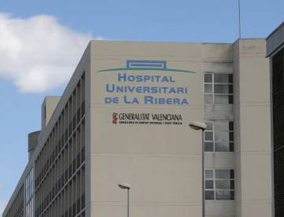 El Hospital de Alzira.