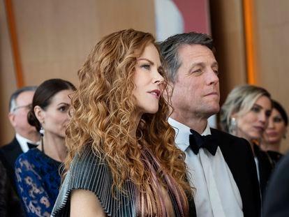 Nicole Kidman y Hugh Grant en 'The Undoing'.